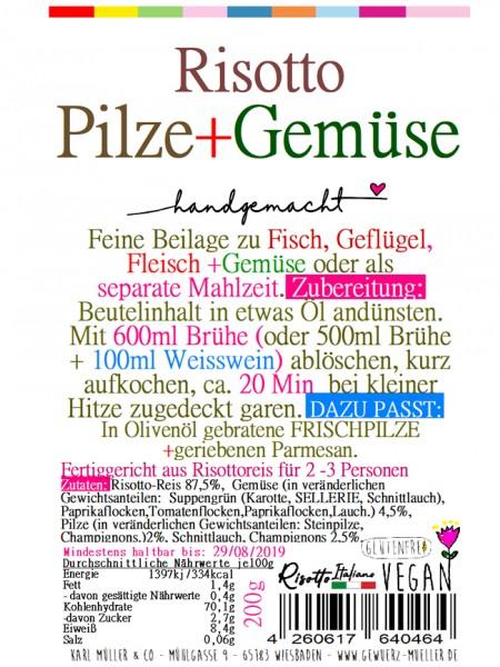 """Risotto - """"Pilze & Gemüse"""" 200g"""