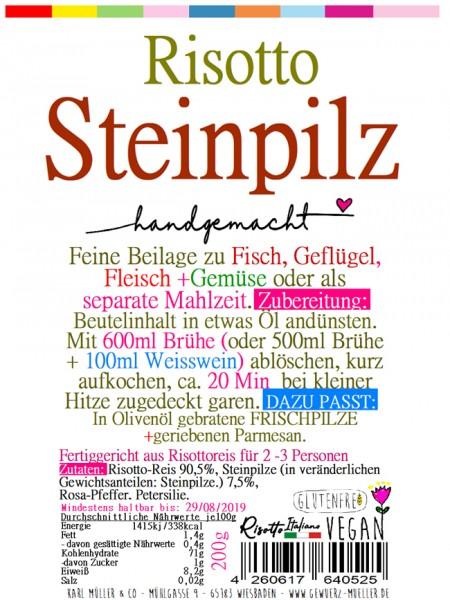 """Risotto - """"Steinpilz + Rosa Pfeffer"""" 200g"""