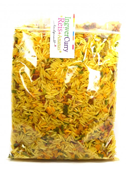 Ingwer Curry Reis + Ananas 200g