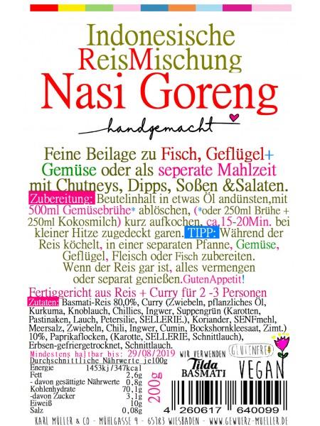 """Indonesische Reismischung """"Nasi-Goreng"""" 200g"""
