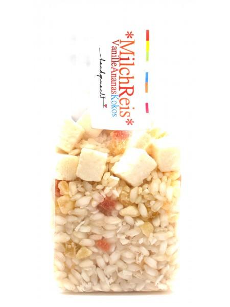 Milchreis Vanille Ananas Kokos 125g