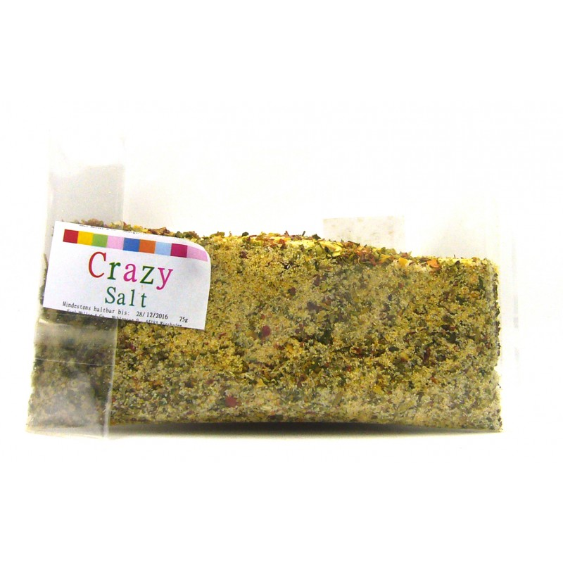 Crazy Salt (bunt gewürtzes Salz) 75g