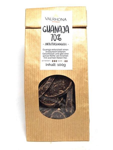 """Valrhona """"Guanaja 70%"""" 100g"""