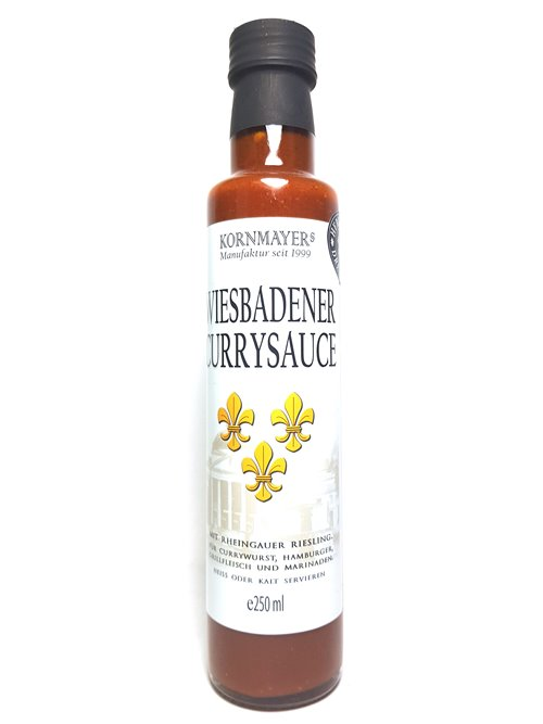 "Kornmayers ""Wiesbadener Currysauce"" 250ml"