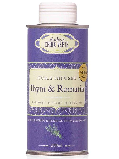 Thymian- und Rosmarinöl 250ml Croix Vert)