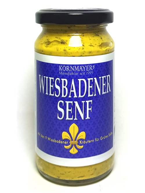 "Kornmayers ""Wiesbadner Senf"" 210ml"