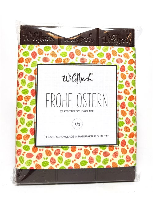 "Wildbach ""Frohe Ostern 62%"" 70g"