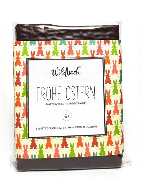 "Wildbach ""Frohe Ostern Marzipan 62%"" 70g"