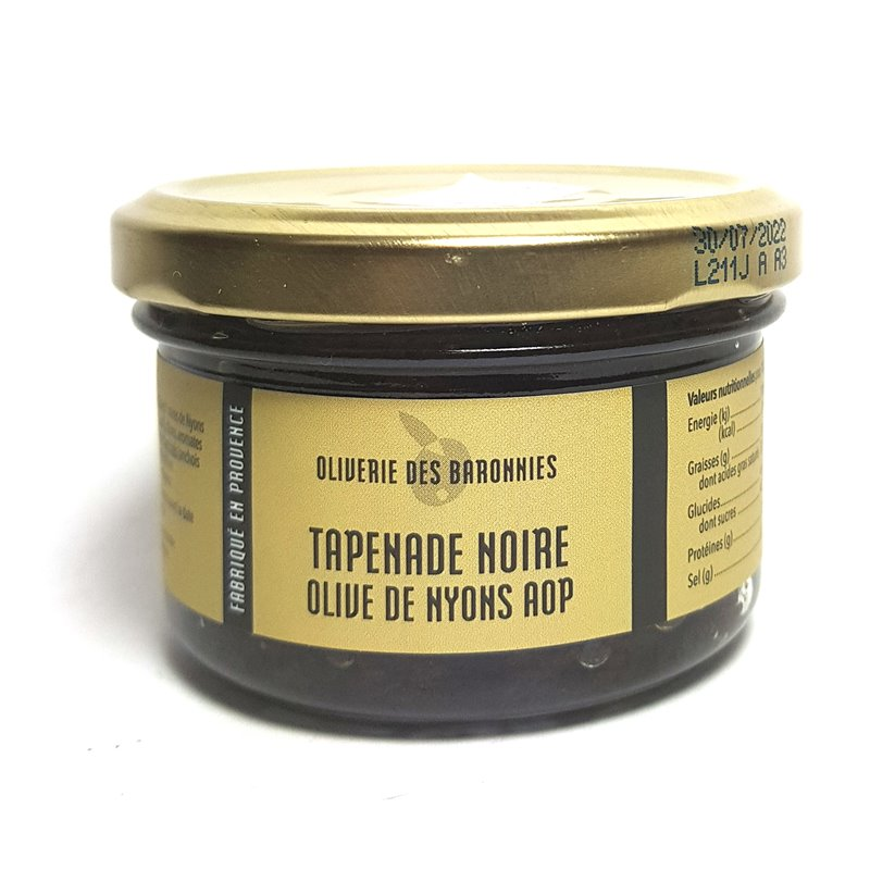 "Tapenade ""Noir de Nyonce AOP"" 90g"