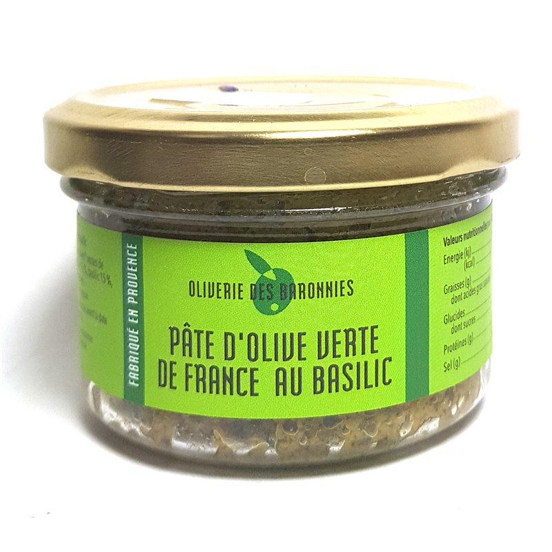 "Tapenade ""Grüne Olive + Basilikum"" 90g"