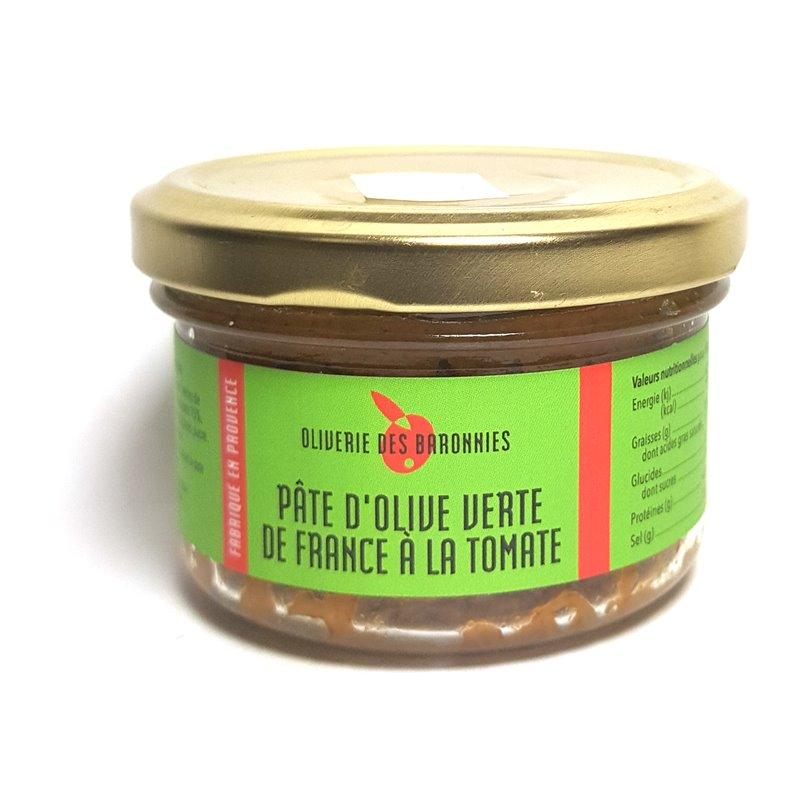 "Tapenade ""Grüne Olive Tomate"" 90g"