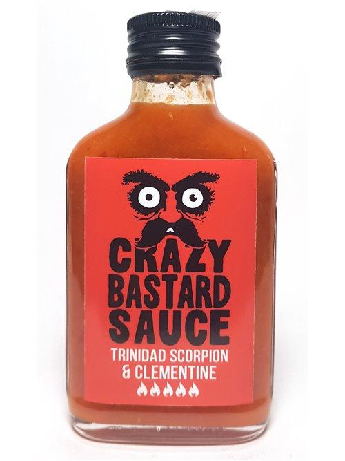 """Crazy Bastard """"Trinidat Scorpion & Clementine""""100ml"""