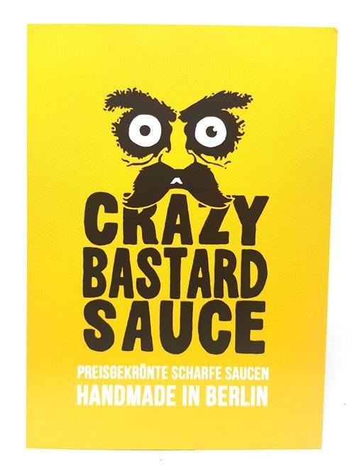 """Crazy Bastard """"Ghost Pepper & Mango""""100ml"""