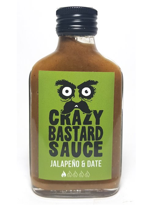 "Crazy Bastard ""Jalapeno & Date""100ml"
