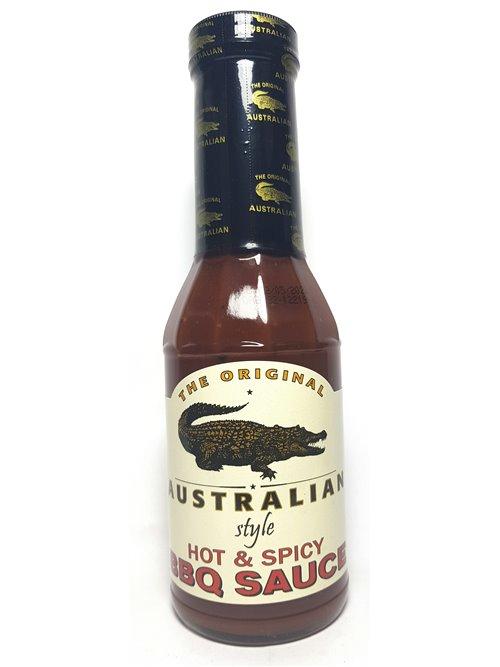 "The Original Australian ""HOT & Spicy BBQ Sauce"" 355ml"