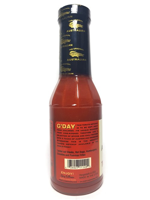 "The Original Australian "" Ketchup for Grownups"" 355ml"