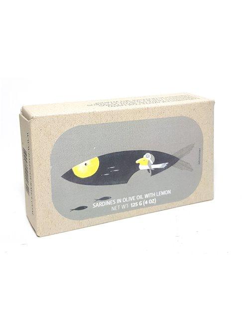 Sardinen + Zitrone 125g