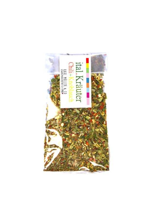 Ital. Kräuter m. Knoblauch & Chili 30g