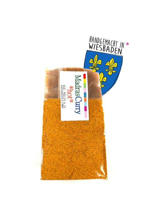 Curry Madras hot 50g