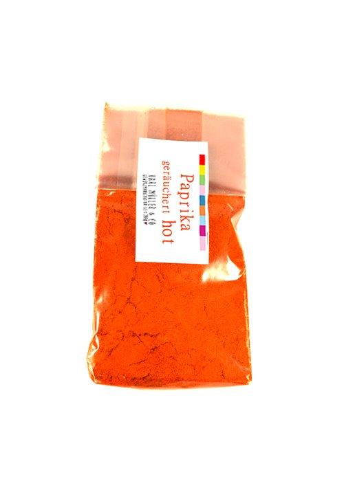 Paprika geräuchert - hot 50g
