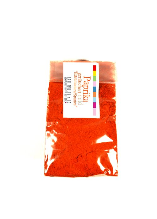 Paprika geräuchert-  mild 50g