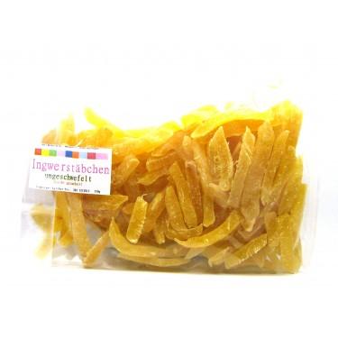 Ingwer kandiert (Thailand, ungeschwefelt) 150g