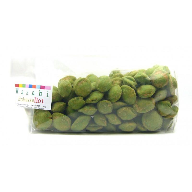 """Wasabi Erdnüsse """"Japan Style"""" 200g"""
