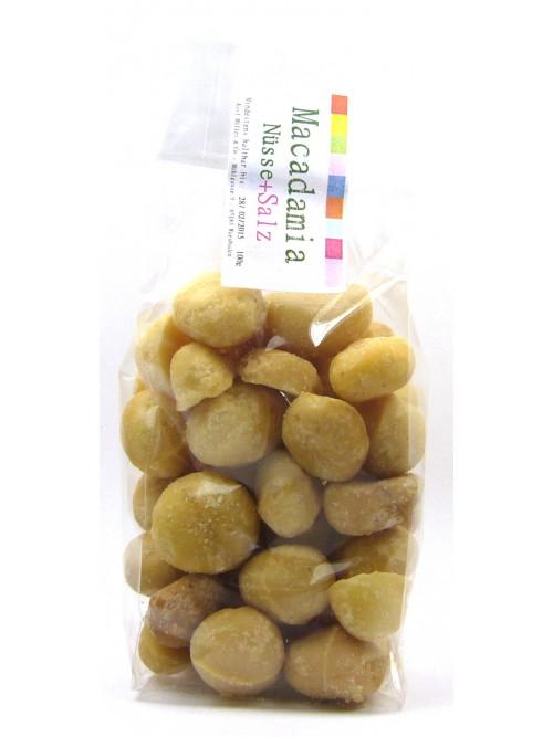 """Macadamia Nüsse """"gesalzen"""" 100g"""