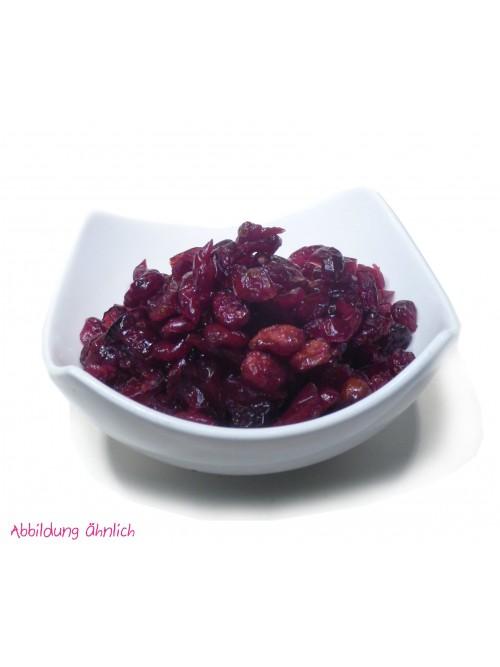 """Cranberrys """"leicht gesüßt"""" 100g"""