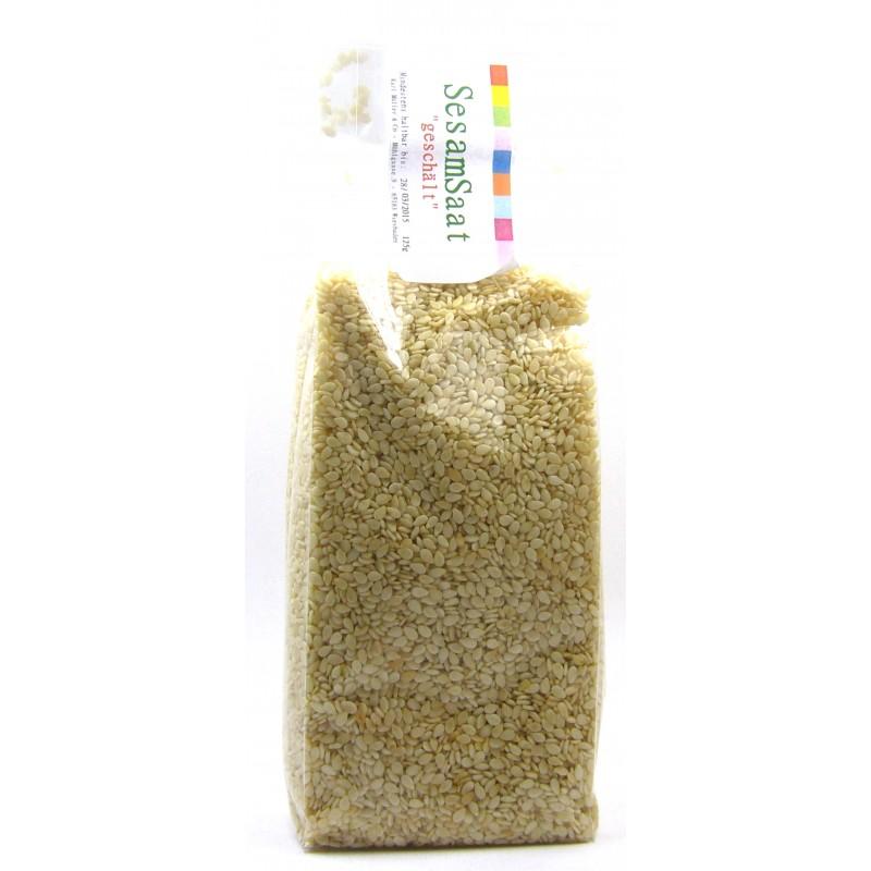 Sesamsaat geschält 100g