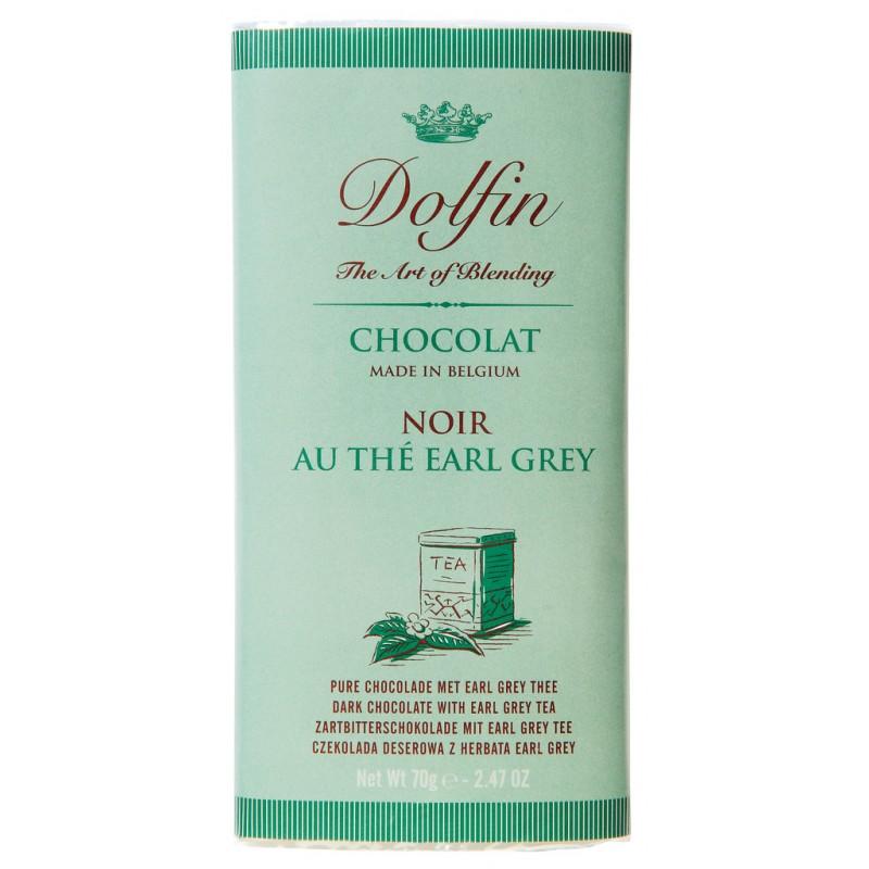 Zartbitterschokolade, mit Earl Grey Tee 70g