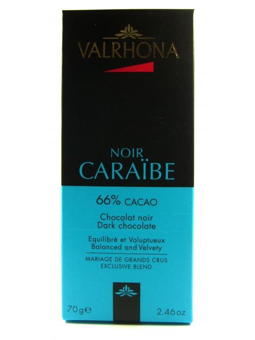 """Valrhona """"Caraibe 56%  Cacao""""  70g"""