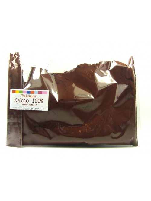 "Valrhona ""Kakaopulver - Stark entölt 10%"" 125g"