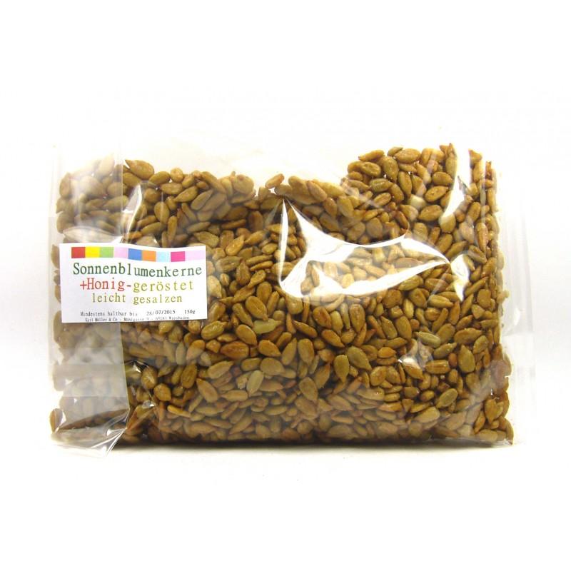 Sonnenblumenkerne geröstet & leicht gesalzen 150g