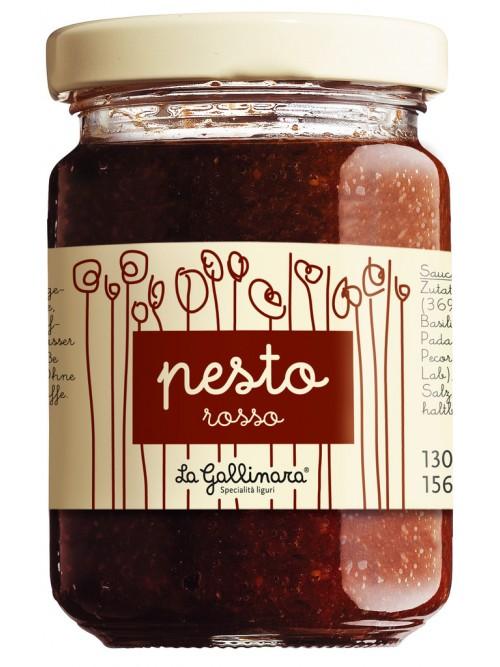 Pesto rosso, Tomatenpesto – La Gallinara 130g