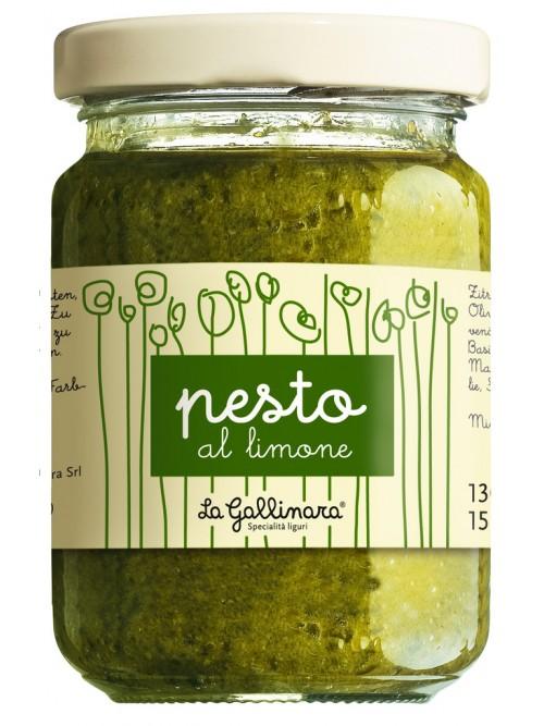 Pesto al limone, Zitronenpesto – La Gallinara 130g